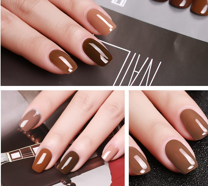 Caramel Color Gel Polish
