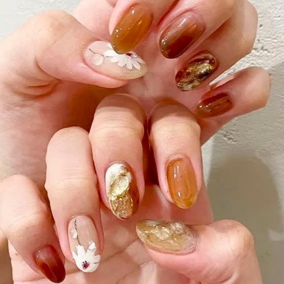 Gel Nail Polish art